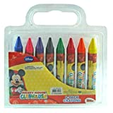 Disney Mickey Mouse 8 Pack Of Jumbo Crayons For Art School & More
