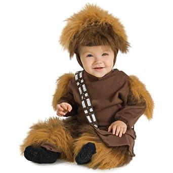 Amazon.com: Newborn Baby Star Wars Chewbacca Costume (Sz:0 ...