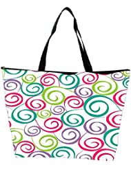 Snoogg Colorful Pattern Amazed Designer Waterproof Bag Made Of High Strength Nylon - B01I1KI6N8
