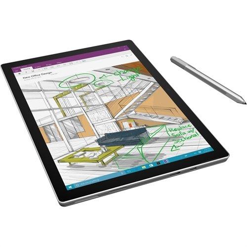 "Microsoft Surface Pro 4 Tablet - 12.3"" 3:2 Multi-touch Screen - 2736 X 1824 - PixelSense - Intel Core I5 (6th Gen) I5-6300U TU4-00001"