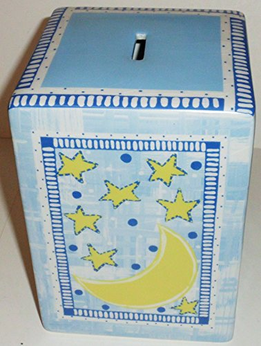Ceramic Moon Children's Bank - Item BKM/6004