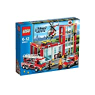 Lego City Fire Station Building Sets