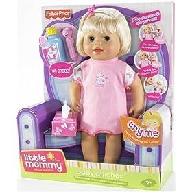 Little Mommy Baby Ah-Choo Doll