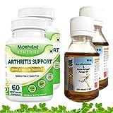 Morpheme Arthritis Support + Arthcare Oil For Back Pain, Joint Pain & Arthritis (2 Combo Pack)