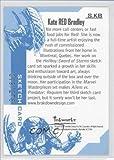 Kate RED Bradley #19/278 (Trading Card) 2007 Inkworks Aliens vs. Predator: Requiem Sketch Cards #S.KB