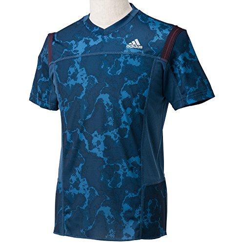 (アディダス)adidas M 叶衣 半袖グラフィックTシャツ LMI38 M67114 リッチブルーF14 J/L