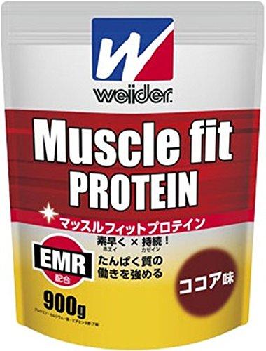 森永製菓 マッスルフィットプロテイン ココア味 900g