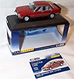 corgi vanguards ford granada MKII 2.8 GHIA red car 1.43 scale diecast model