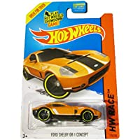Hot Wheels Hw Race 2015 Track Aces 178/250 Ford Shelby Gr 1 Concept (Orange)