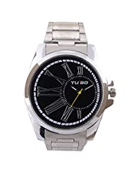 Turbo Youth Analogue Black Dial Men's Watch - R106-003M