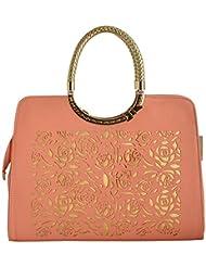Gouribags PU Handbag (Red) - B01BPDDGSS