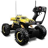 Maisto Yellow Color Maisto Remote Control Rock Crawler Off-Road Monster Truck