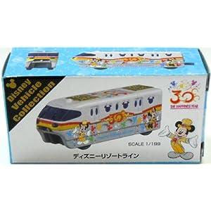【東京ディズニーリゾート 30周年 リゾートライン トミカ】 TDS 30th Anniversary Disney RESORT LINE Tomica