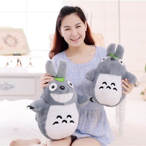 60cm Large Size Japan Anime Figure Brinquedos Giant Totoro Stuffed Animals Plush Toys Cute Doll Filled With PP Cotton Juguetes