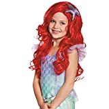 Disguise Ariel Ultra Prestige Child Disney Princess The Little Mermaid Wig, One Size Child, One Color