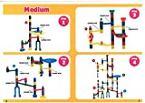 Edushape Marbulous Marble Run Contains 202 Pieces and 50 Marbles
