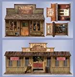 Beistle Company - 5' Wild West Town Props Wall Add-Ons by Coolglow