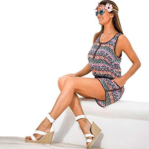 Vestido Mono short 85156