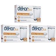 Diaper Dekor Plus Refills 6 Pack