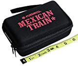 Mexican Train Double 12 Dominoes _ Travel Size _with Colored Numbers