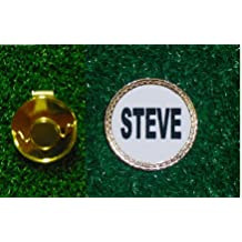Gatormade Personalized Golf Ball Marker Hat Clip Steve