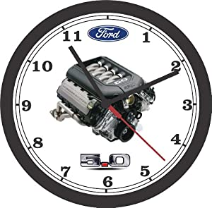 Amazon.com: 2012-2014 FORD MUSTANG COYOTE 5.0 ENGINE PHOTO
