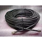 Redman Cb Made 25ft RG 8U 95% Shielded Cable Jumper Coax CB / Ham Radio W/ PL259 Connectors