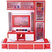 QUN FENG Dollhouse Furniture-Living Room,Perfect For Use With Dolls
