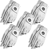 Taylormade Golf Men S All Weather Glove Twin Pack MLH - US L - 5 Pack - White