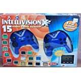 Intellevision X2 Dual Game Pad Plug N Play Video Game Console 15 Games