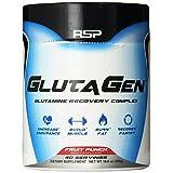 RSP Nutrition Glutagen Supplement, Fruit Punch, 300 Gram