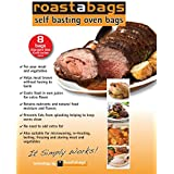 Roastabags - Self Basting Oven Bags (Pack Of 8) For Brining And Roasting Chicken, Meat, Seafood & Vegetables....