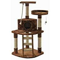 Go Pet Club Cat Tree Brown F49