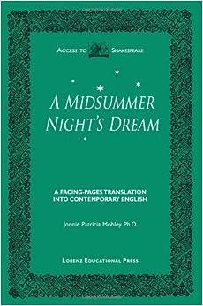 Midsummer night dream book translation job