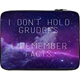 Snoogg Grudges & Facts 12 To 12.6 Inch Laptop Netbook Notebook Slipcase Sleeve