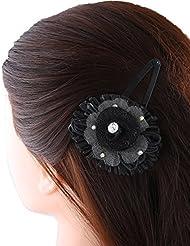 Anuradha Art Brown Colour Styled With Beautiful Design With Stone Hair Accessories Hair Clip For Women/Girls - B01HJQPQ92