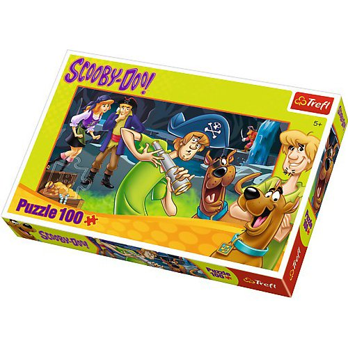 Trefl Scooby Doo -Treasure Hunters Puzzle (100 Pieces)