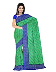 Anand Sarees Faux Georgette Synthetic Print Saree - B013X046TY