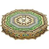 Crafts Creator Acrylic Decorative Box (27 Cm X 27 Cm X 5 Cm, CC_36)