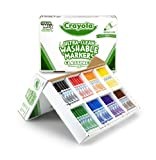 Crayola 200ct Washable Marker Classpack (Barrel Color May Vary)