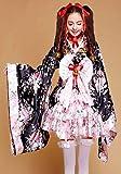VSVO Anime Cosplay Lolita Halloween Fancy Dress Japanese Kimono Costume (Medium)