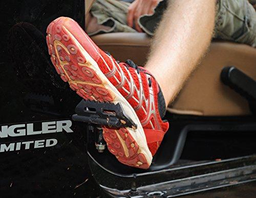 New JK Jeep Wrangler Foot Pegs (2007 – Present)