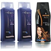 Adidev Herbal Anti Dandruff Hair Oil With Anti Dandruff Hair Shampoo