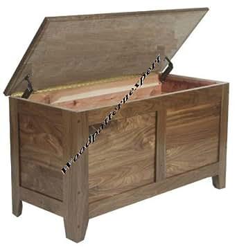 Amazon.com: Build Your Own Cedar Storage Chest DIY PLANS ...
