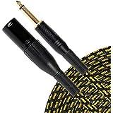 Sunburst Gear 851824003247 1/4-Inch TS To XLR Male Cable (5-Feet)