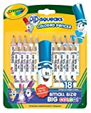 Crayola 18ct. Pip-Squeaks Colored Pencils withsharpener