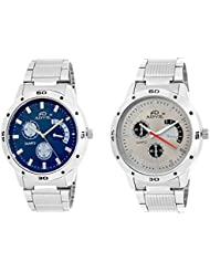 ADVIL Combo Analogue Multicolor Dial Men's Watch AD11SM03-04