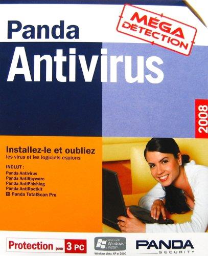 Télécharger sur eMule Panda Antivirus 2008 avec Serial