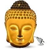 Electric Ceramic Buddha Idol Aroma ( Heat Regulator Included ) With One Free Diffuser Oil Citronella / Lemongrass