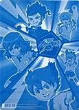 Inazuma Eleven GO sticker with underlay